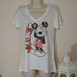 Disney Mickey Mouse shirt, size M